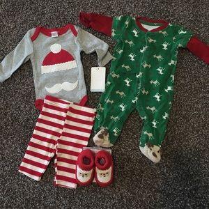 Baby boy Christmas bundle